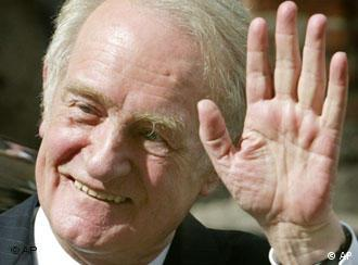 Johannes Rau suffered from a lengthy illness after leaving office