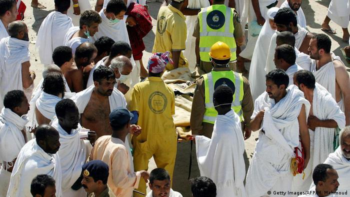 Bildergalerie Unfälle Pilger Mekka 2004