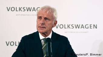 Ο νέος διευθύνων σύμβουλος της VW Ματίας Μίλερ