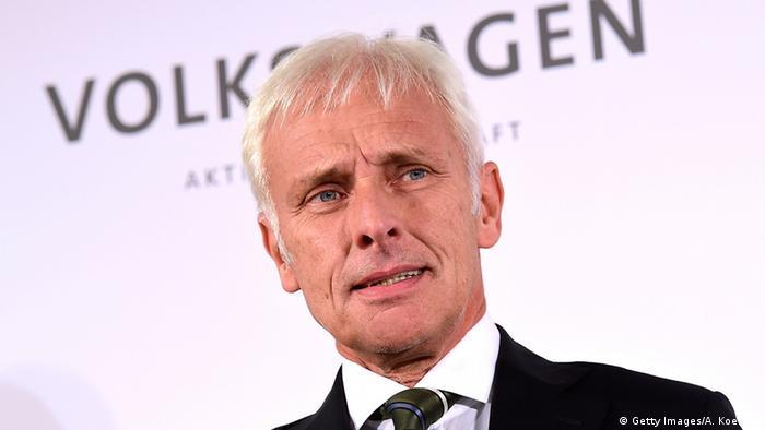 Matthias Müller Nachfolger Winterkorn Volkswagen