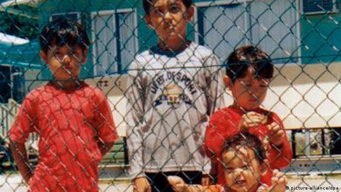 Nauru Flüchtlinge ARCHIV 2003 (picture-alliance/dpa)