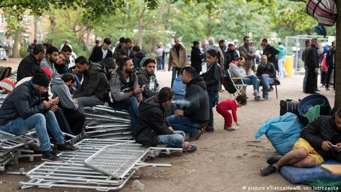 Berlin's Health and Social Ministry over inadequate response to basic needs