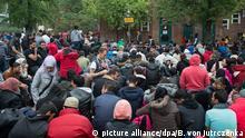 Deutschland Flüchtlinge in Berlin