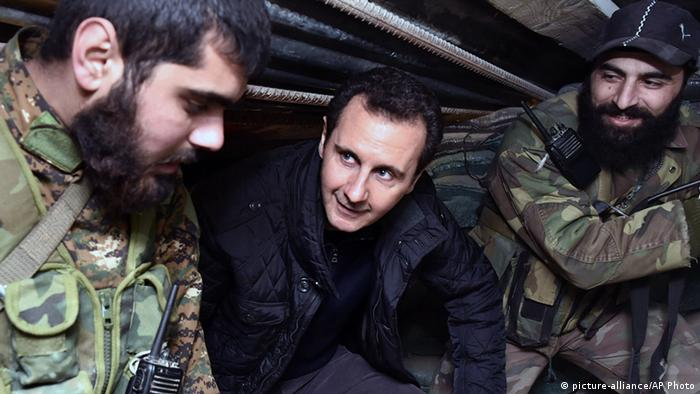 Syrien Präsident Bashar al-Assad (picture-alliance/AP Photo)