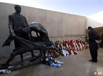 Monumento em memória das vítimas do campo de concentração de Sachsenhausen