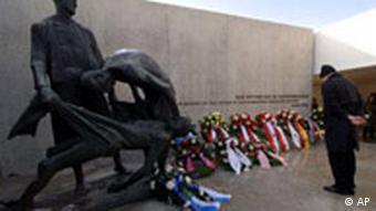 Bildgalerie Holocaust Gedenkstätte Gedenktag Sachsenhausen Deutschland