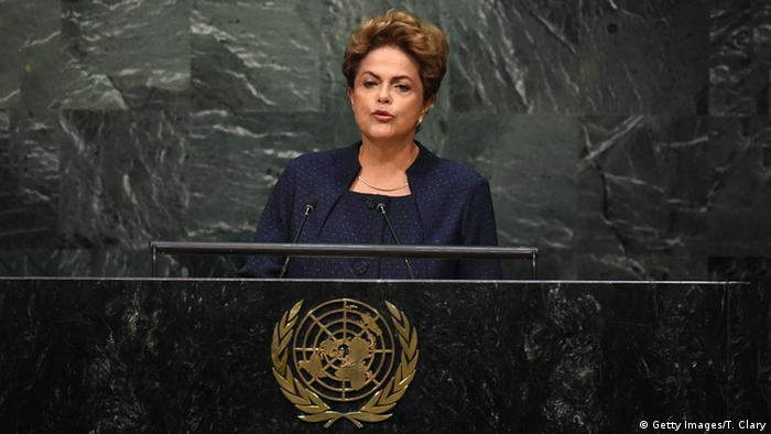 New York UN Rede Dilma Rousseff