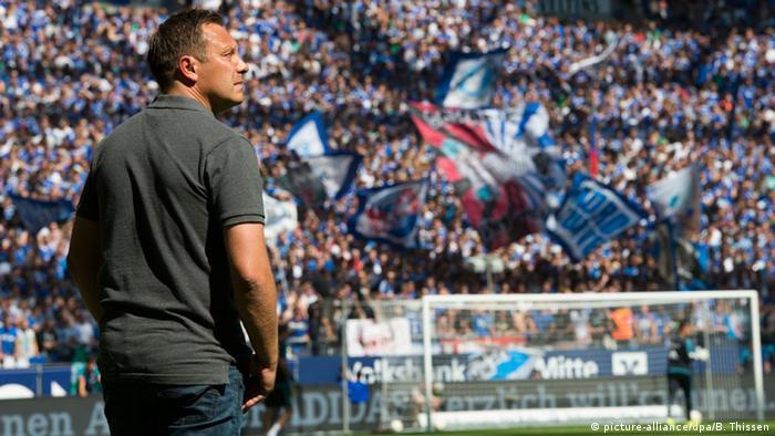 Bundesliga - 2. Spieltag: FC Schalke 04 - Darmstadt 98 Andre Breitenreiter