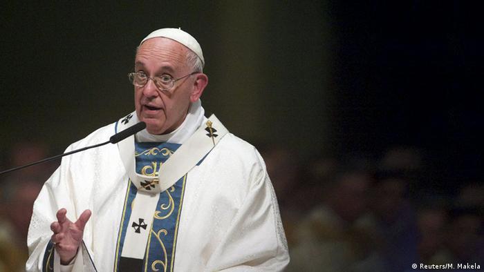 USA Philadelphia Kathedrale Predigt Papst Franziskus (Reuters/M. Makela)