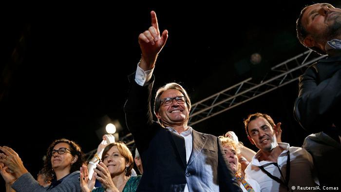 Spanien Katalonien Wahlen Artur Mas
