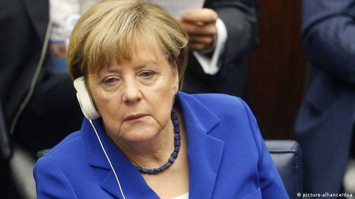 Chancellor Merkel skeptical of Turkey's proposal to create a safe zone in northern Syria