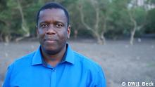 Der mosambikanischen Politiker Daviz Simango in der Nähe des Hafens der Stadt Beira, der er als Bürgermeister vorsteht. Simango ist zweimal als Präsidentschaftskandidat für die Oppositionspartei MDM - Movimento Democrático de Mocambique angetreten. Er hat die Partei gegründet und führt sie an. Ort: Beira, Sofala, Mosambik Fotograf: Johannes Beck / DW Datum: 27.09.2015