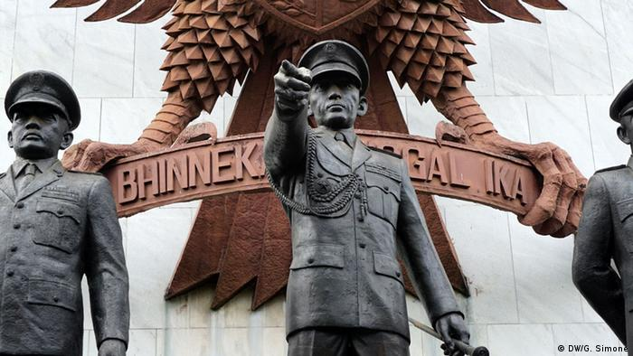 Pancasila Monument in Jakarta, Indonesien