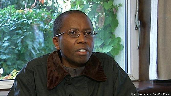 Ruanda Deutschland Ignace Murwanashyaka im Gerichtssaal in Stuttgart (picture-alliance/dpa/MDR/Fakt)