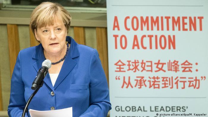 USA Bundeskanzlerin Angela Merkel in New York