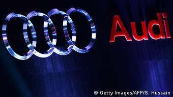 Audi Logo (Getty Images/AFP/S. Hussain)