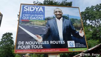 Une affiche de Sydia Toure, candidat à la présidentielle en 2015
