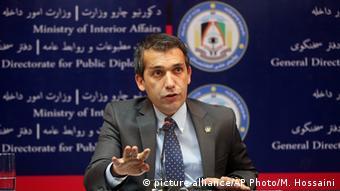 Afghanistan Taliban Offensive bei Kundus PK Regierungssprecher Sediqi