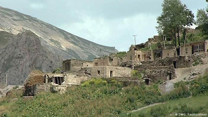 Горное ягнобское селение в Таджикистане