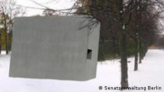 Denkmalsentwurf für homosexuelle Opfer des Nationalsozialismus