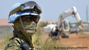 A UN Soldaten in South Sudan