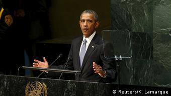 New York UN Gipfel Rede Obama