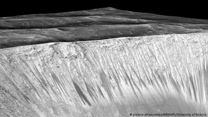 NASA Mars Wasser auf dem Mars