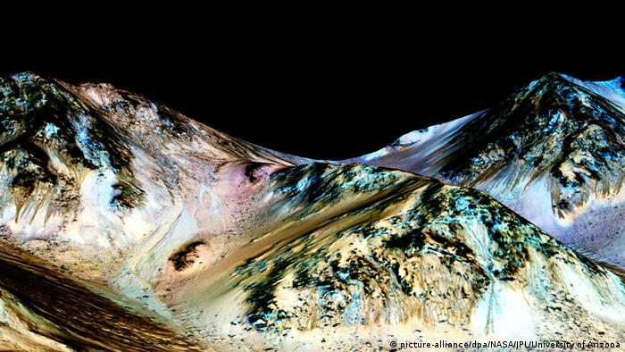 NASA Mars Wasser auf dem