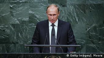 New York UN Gipfel Rede Wladimir Putin