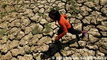 El Nino Symbolbild Dürre Philippinen Kind