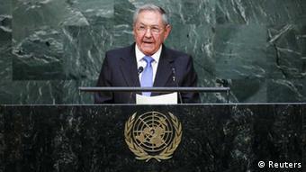 Vereinte Nationen: Kubas Präsident Raul Castro spricht vor der UN-Vollversammlung