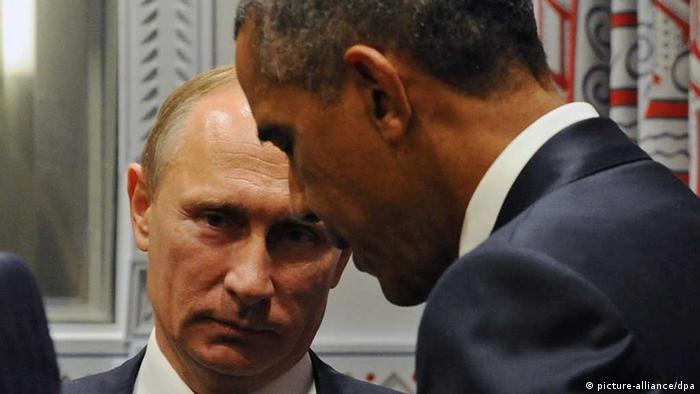 O jogo de pôquer entre Obama e Putin por Assad