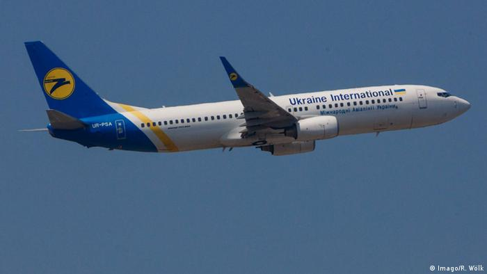 Boeing 737 der Ukraine International Airlines (Imago/R. Wölk)