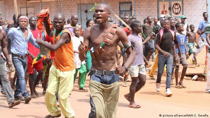 Zentralafrikanische Republik Proteste und Gewalt in Bangui