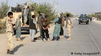 Afghanistan Polizei Kampf gegen Taliban nach Einnahme Kundus