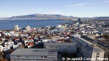 Aerial View of Reykjavik, Iceland PUBLICATIONxINxGERxSUIxAUTxHUNxONLY acp61522 photography