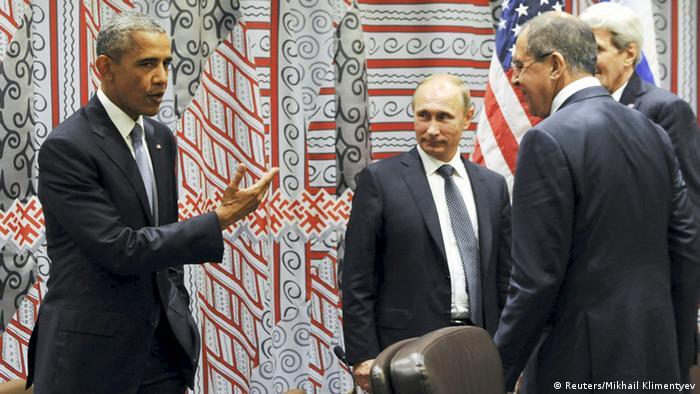 Barak Obama Wladimir Putin UN Generalversammlung