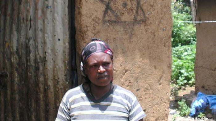An Ethiopian Jewish woman in Gonder.