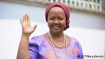 Mgombea urais wa Tanzania kupitia chama cha ACT-Wazalendo, Anna Mghirwa.
