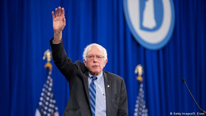 Bernie Sanders USA Wahlkampf Präsidentschaftskandidat Demokraten
