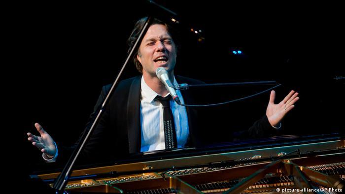 Ungarn Musiker Rufus Wainwright gibt ein Konzert in Budapest