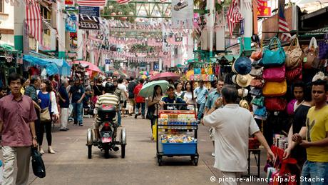 Chinatown in Kuala Lumpur, Indonesien (picture-alliance/dpa/S. Stache)