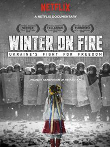 The official poster of the documentary Winter on Fire (Photo: Netflix)