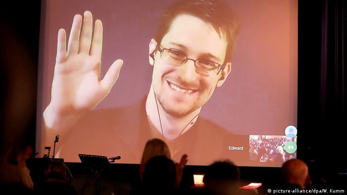 NSA-Enthüller Edward Snowden (picture-alliance/dpa/W. Kumm)