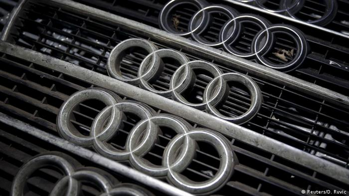 Audi Logo (Reuters/D. Ruvic)