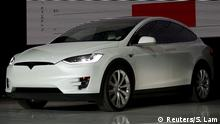 USA Tesla Motors Model X SUV