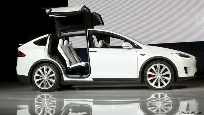 USA Tesla Motors Model X SUV