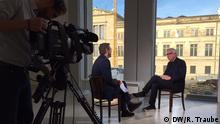 Deutschland Interview Rainer Traube und David Chipperfield in Berlin