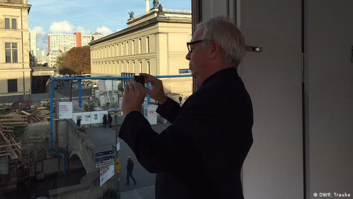 David Chipperfield in Berlin, Copyright: Rainer Traube