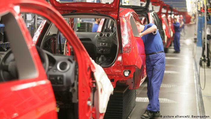 На автомобілебудівному заводі Ford в Кельні
